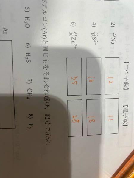 2.4.6番の陽子の数を教えてください。