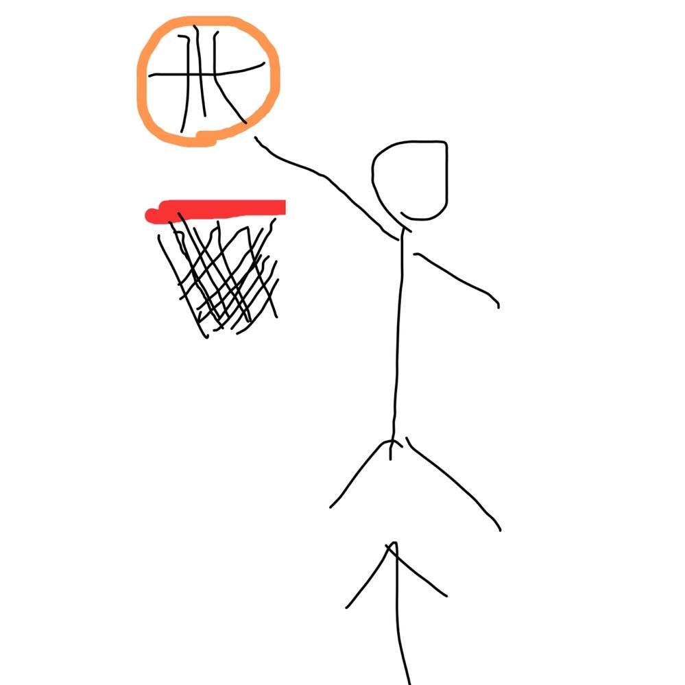 バスケにおいてシュートされた時にゴールに手を伸ばして弾いたり単に3m級の選手がいたとしてずっとゴールの入り口に手でずっと塞ぐように守ると かってなんかの反則になりますか?