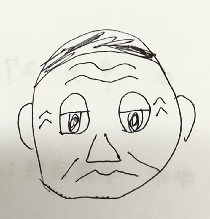 イラスト描いてみました。 誰かわかりますか?