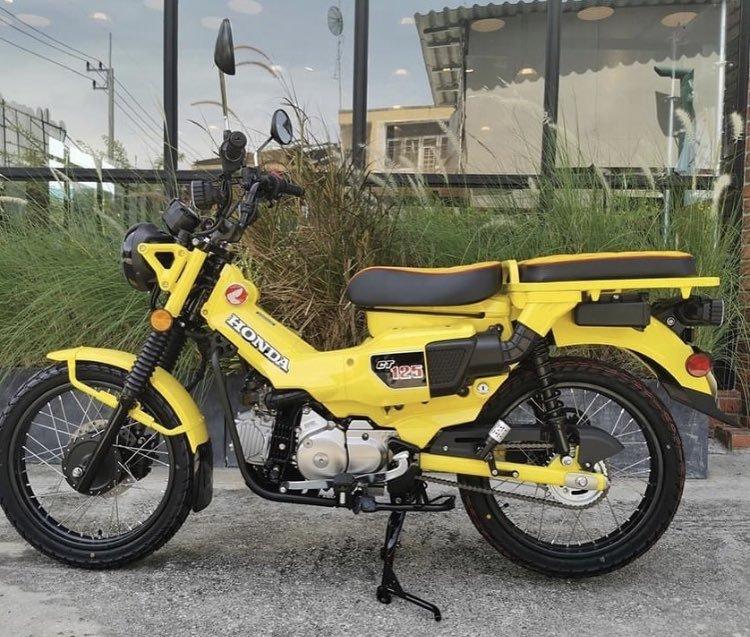 CT125のイエローの正式発売はいつですか? 黄色カッコいいです。