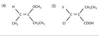 E配置か Z配置を問う問題なのですが、 いまいち分かりません...  教えていただけると幸いです。  大学化学 異性体