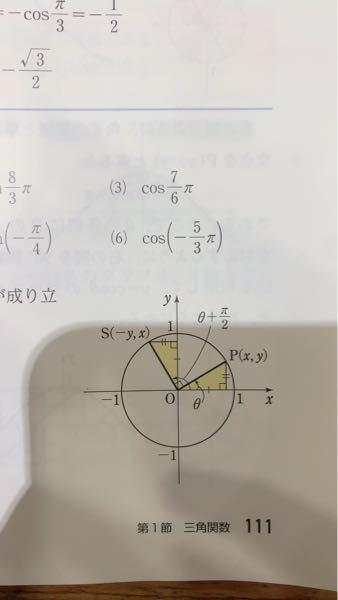 (6)はどうしてどうして−1/2ではなく1/2になるんですか?教えてください、、、、!!