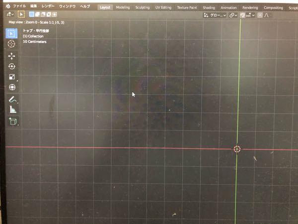 blenderでGISを導入したのですがマップが表示されません。 webでGISの導入を調べ下記動画の通り使用しようとしたのですが画像の通り何も表示されません。 どうすれば改善されるでしょうか? ht