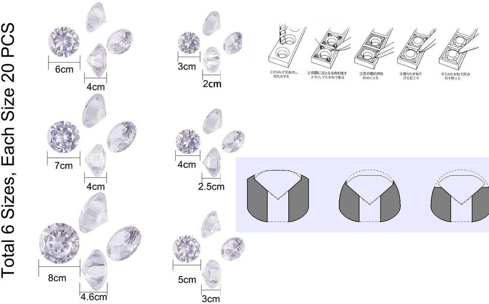 彫り留めで質問なんですがブリリアンカットの宝石の石留をするとき、 穴を開けると思うのですが穴を開けるときは鉄工用のドリルでいいのでしょうか? あと穴を整えるのに使う道具はありますか? 直径3㎜のブリリアンカットの宝石の彫り止めをするとき3mmのドリルで穴を開けたらいいでしょうか? 6mmなら6mmのドリルを使えばいいでしょうか? あと穴の深さはどのくらいにしたらいいですか?