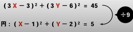 画像の式において右辺はともかく、÷9をすることによって左辺が一瞬で求まるのはなぜですか? これは公式云々以前の常識だったりするのでしょうか?