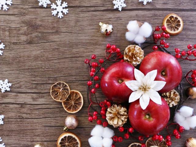 クリスマスにはリンゴを食べますか??