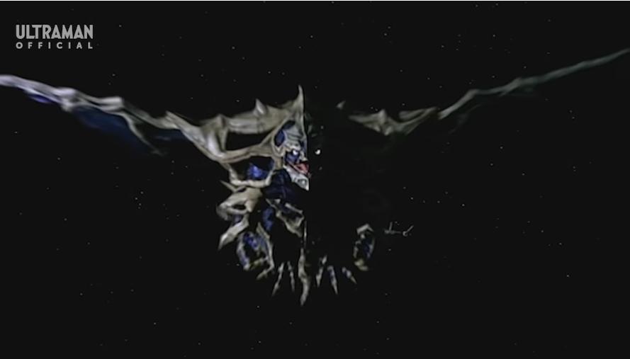 『宇宙でスーパーGUTSに追われている、体が骨のような皮膚を持つ宇宙有翼骨獣ゲランダ』 数あるアニメや特撮作品の中で「見た目がガイコツのような怪人・怪獣」と聞き、思い浮かべたのはだれですか?