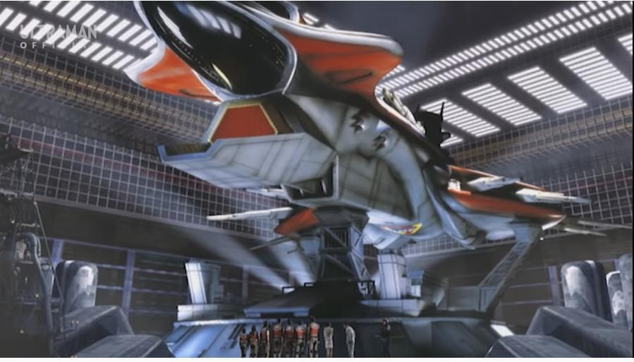 『ゴンドウ参謀がスーパーGUTSのメンバーに披露した、TPCの新たな戦力となる大型戦艦プロメテウス』 想像してください。 「人々の平和を守る役目を持つあなたは、所属する組織がとんでもない強力な兵器を開発したと知りました」。 さて、一体どんな兵器なのでしょうか? あなたの希望を回答してください。