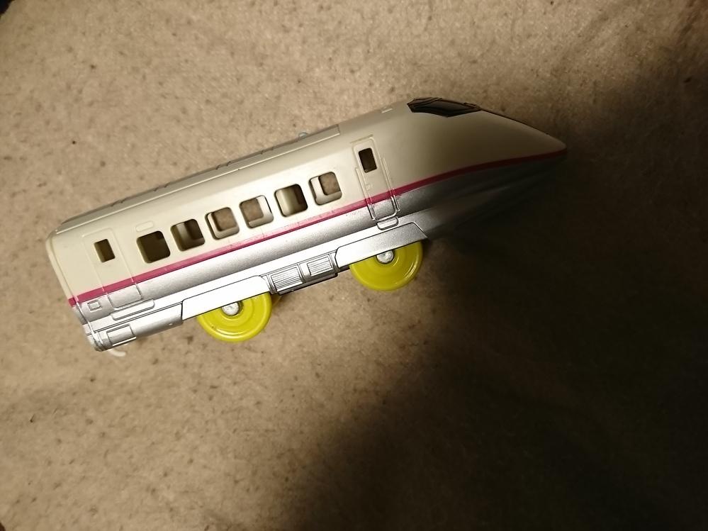 このプラレールは、どの種類ですか? 後部車両のみです。
