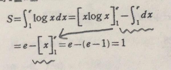 数3 dxを積分するとxになるんですか?なぜですか?