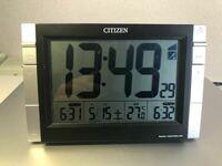 こういう温度計付き目覚まし時計は、どこに温度を計測する機器が入っているのですか?