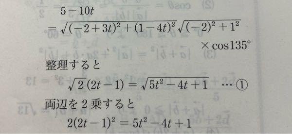 数学です。 どう整理すると②の形になりますか???