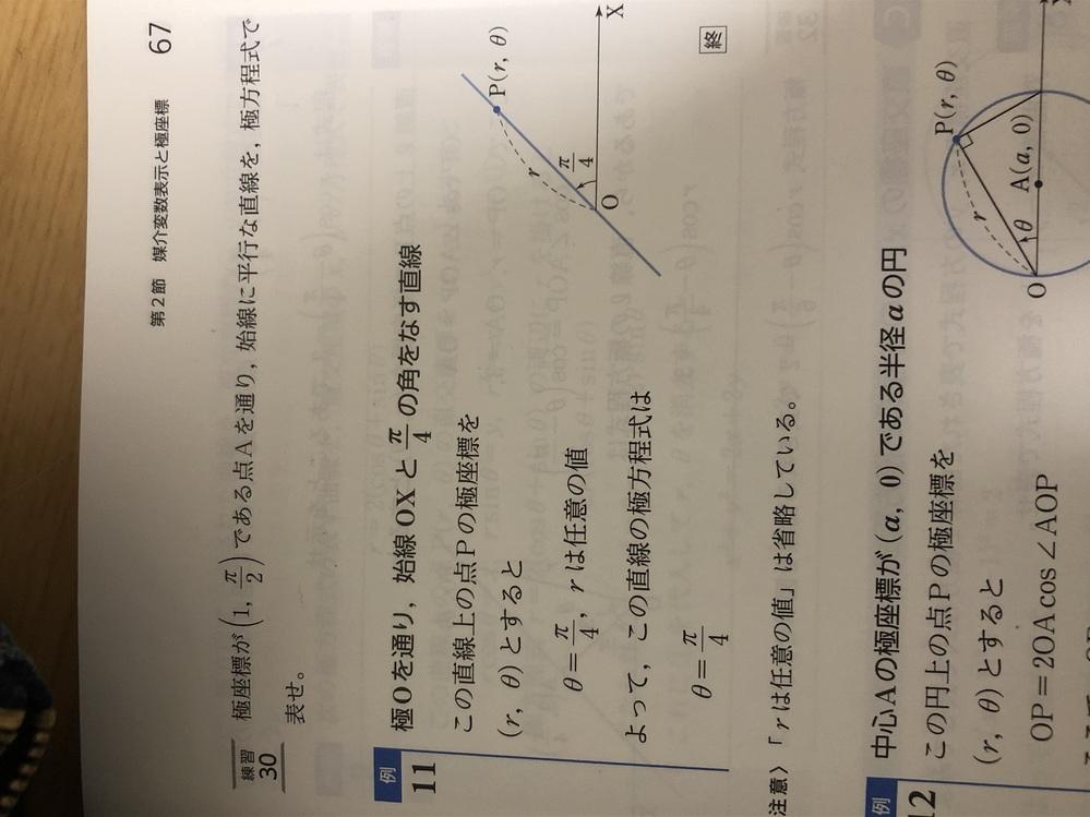 例11を直交座標に直すとどうなりますか