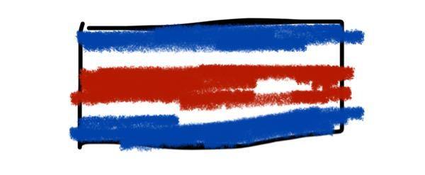 こんな感じの国旗だったんですけど…なんて国でしたっけ…