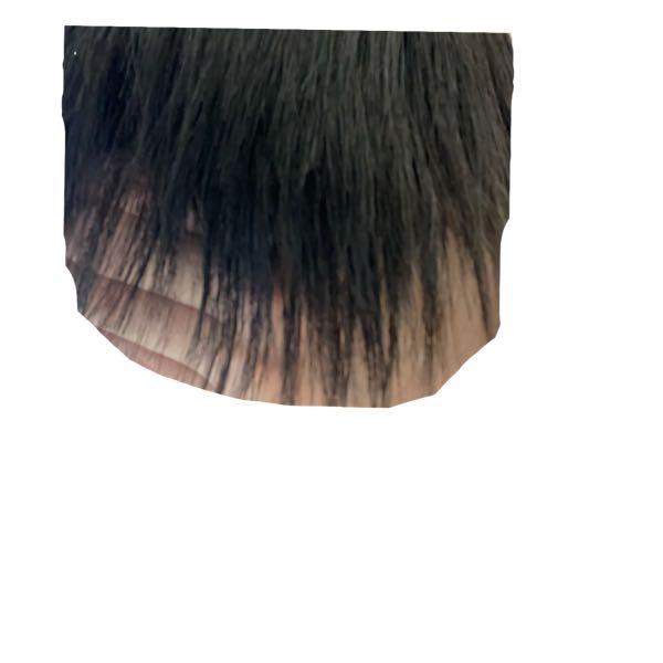 写真のように縮毛矯正をかけたら前髪の先の方が薄くなってしまったんですが、日数が経てば薄くなくなりますか?