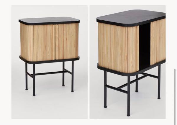 日本の通販サイト(日本へ発送可能な海外通販サイト)で画像の様なサイドテーブルを販売しているサイトをご存知の方いらっしゃりましたら教えてください。 画像自体はH&M HOME(イギリス版)...