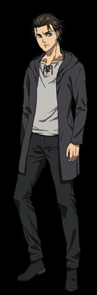進撃の巨人ファイナルシーズンで、エレンが着ているパーカーのさらに丈が長くなったような服はなんていう名前なんですか?