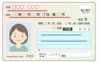 マイナンバーカードについて教えて下さい。 先日ある登録をネットで本人確認書類を出して 申請しようとしたところ身分証明書の誤りがあり なんどやってもエラーになってしまいました。  婚姻届を最近出した際元々持っていたマイナンバーカード の変更もしました。 結婚して姓が変わったんですが 写真の赤線のところは旧姓、旧住 青線のところに住所修正 新住所 氏名修正 新姓の名前が書いてあります。 これは通...