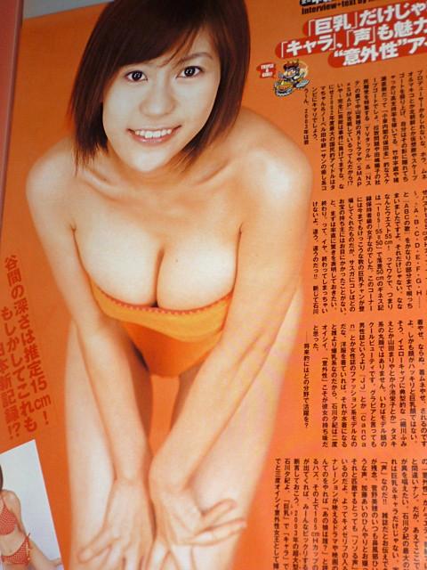 グラビアアイドルだった石川夕紀さん知っていますか? 人気はありましたか?