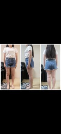 156cm60kgです。 首が短い、手足が小さい、指が太い、肩幅と骨盤がでかい、身長の割に腰から膝まで長い、横から見ると厚みがあるのが特徴ですが骨格ストレートで間違いないでしょうか? 洋服はチュールスカートやロングスカートや長いズボンは余計太ってみえ、膝上の台形スカートやミニ丈のワンピースは着痩せします。