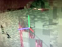 マインクラフトのカーソルが赤、青、黄緑の3色になってしまいました。普通の白の十字架に戻したいです。治し方をお願いします