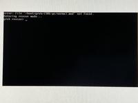 VirtualBoxでubuntuを起動しようとすると写真のような画面が表示されてしまいます。 自分なりに調べてみたのですが解決方法がわかりません。どなたかわかる方いらっしゃいますか?