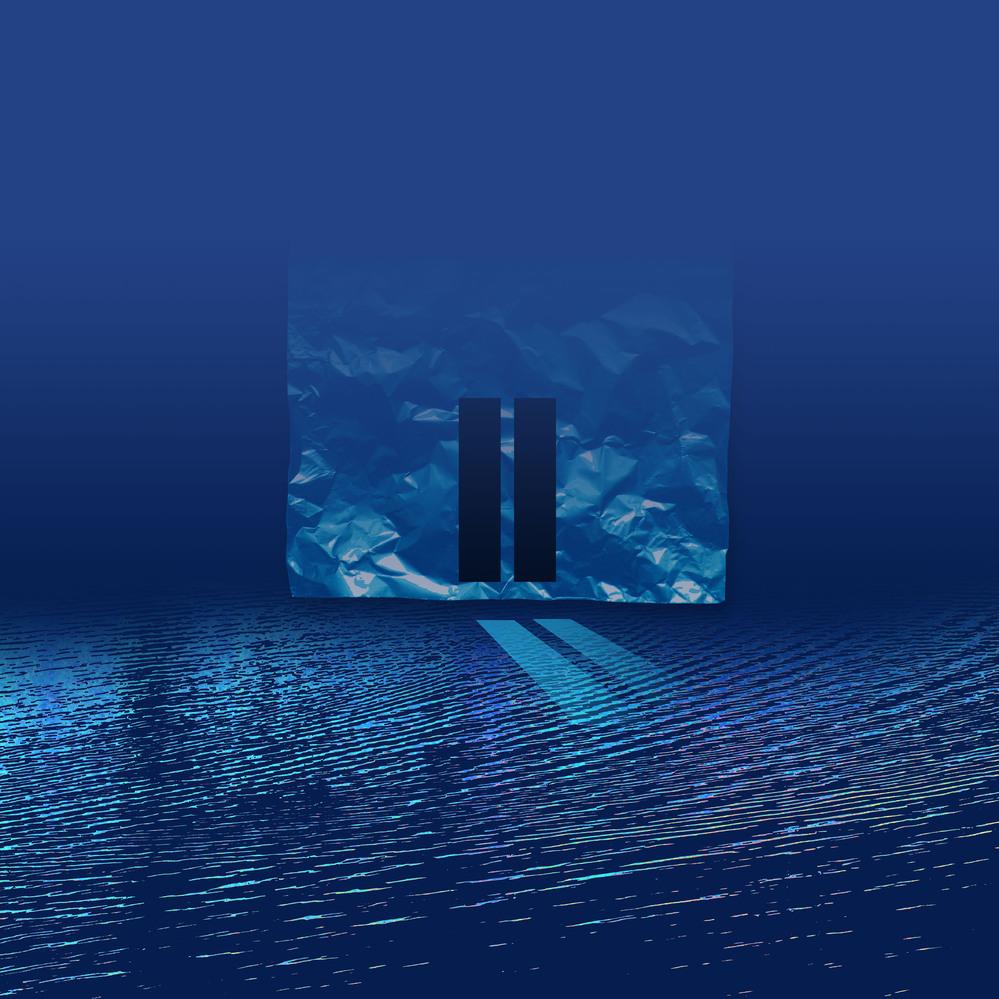 雪の重みで折れる竹の音が静寂を 切り裂くように聞こえてくる。 初めて投稿いたします 最新のデジタル版画ですが、如何でしょうか? タイトル《折竹001》サイズ900×900mm 老いた画家 FUNE