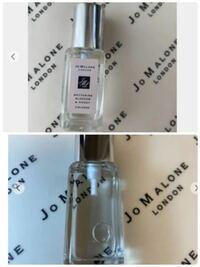 ジョーマローンの香水、これは偽物でしょうか? 正規品とチューブの形状やラベルが違うのが気になります。 海外で購入したものみたいなのですが、海外と国内では作りが違ったりするのでしょうか?