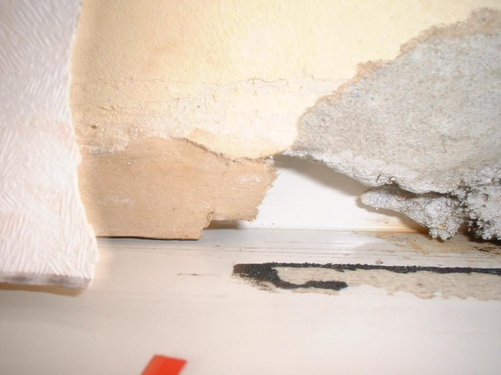 雨漏りで内側の壁の窓枠が壊れて来ています。 10年前にリフォームしたのですが、去年から内側の窓枠から雨漏りする様になり、写真の様に、ついには壁と窓の間の石膏部分の壁が壊れて来ました。 雨漏りも毎度するわけでは無く、風が強い雨の日になります。 雨が入って来そうな外側の壁のボードの合わせ目部分も塞ぎ、屋根部分も調べ、コーキングも劣化していそうな部分は見たのですが、外側から雨が入りそうな部分は全部ふさいだのに雨漏りが止まりません、そもそも家の内側の壁を雨が通る事が在るのでしょうか? 自分で調べられる事はやり尽くしたのですが、原因がサッパリ解りませんので、詳しい方で思い当たる節がある方はどうか教えて下さい。