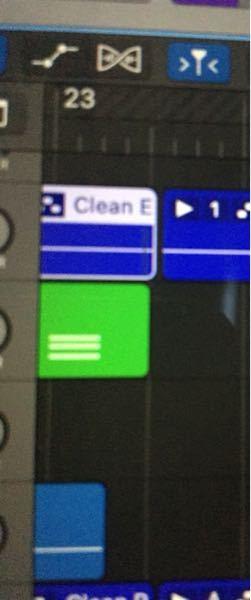 logic pro について2つの質問です エレキギターを弾いて録音する際にアンプを選択しますが、途中まで弾いて地続きに録音しようとすると前のところと少し被っただけで、前の録音が消えてしまうので...