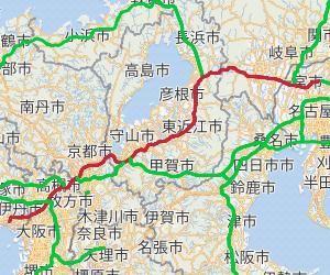 名神高速道路は日本で最初に開通した高速道路として有名ですが、何故カーブが多いのですか? これでは事故が多くてもおかしくなかったのでは?