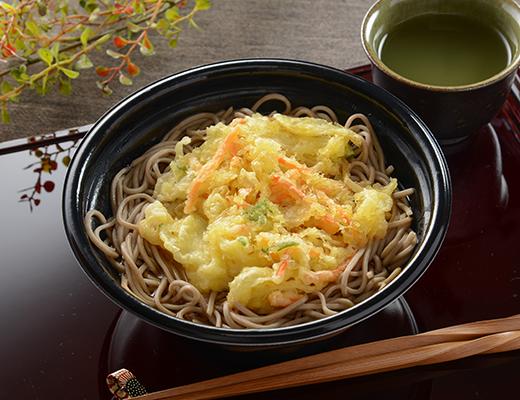 かき揚げ蕎麦と天ぷらうどん。どちらの方が好きですか?
