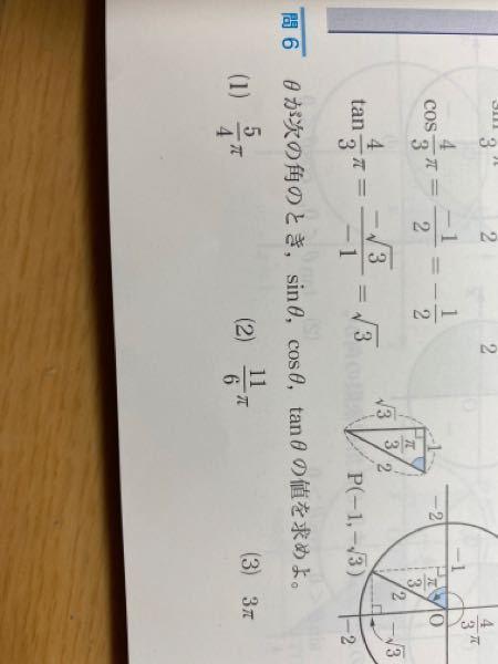 ◯数学II P 1 1 3 問 6⑴ どのように解きますか?