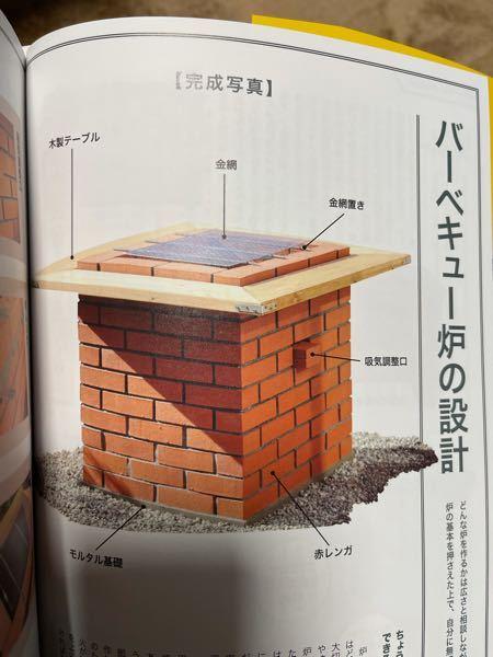 今回初めてバーベキュー炉を作ります。 画像のような木材でテーブルを作らずに、最上段のレンガの上に皿などを置きたい(BBQの時)と思っているのですが、レンガの表面は皿を置いたり、手をついたりできないほど高温になるのでしょうか。 詳しい方教えてください。よろしくお願いします。