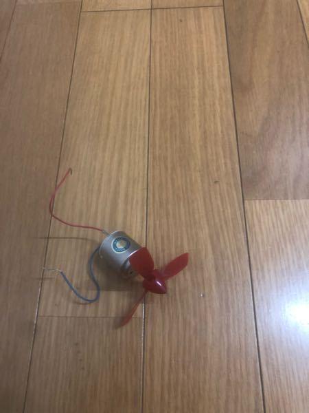 なぜこのーターモは電池のプラスに赤線をつないだら時計回りなの?