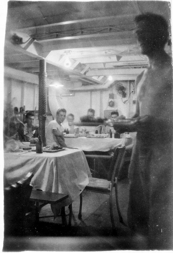 これはLCI-629の食堂ですが、食堂はどこにあった❓
