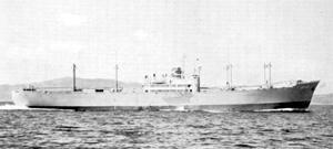 なぜこの貨物船(君川丸 1952)の航海速力はおよそ16ノットなの❓