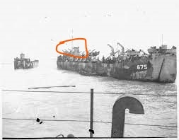 この揚陸艦LST675の赤で囲った部分は?