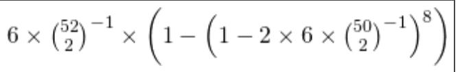 この計算方法と結果を教えてください。