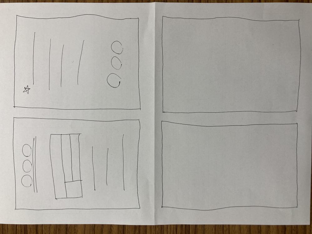 wordで画像のようなフォーマットを作ろうとしてます。※画像が横向きになってしまってますが、画像左を上向きにして、縦のA4です。 A4に4つ枠を作りたい(両面印刷ができない状況なので、A4縦の左右で表裏のフォーマットを作り、下にも上と同じものをコピペする)のですが、どのようにしたら良いでしょうか? イメージは子ども医療費助成受給券みたいな感じです。 段組みで2段にして、表の挿入もしたのですが、外枠が用紙全体の大きな枠しかできません。4つの枠を作りたいのですが、どのようにしたら囲えるのでしょうか? アドバイスよろしくお願いします。