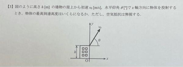 物理学で質問です。解き方を教えて欲しいです。