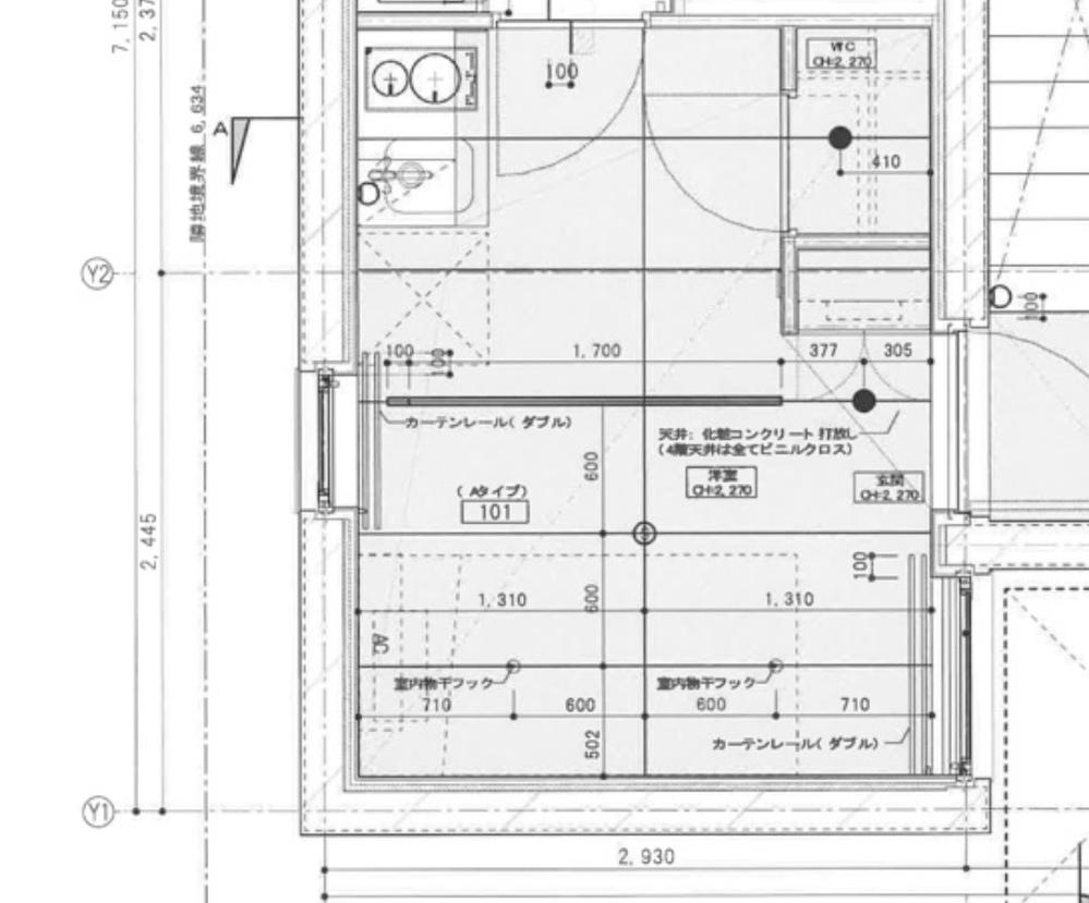 こちらのワンルームの広さは何畳分になりますか?? 縦横のメートルも教えて頂きたいです。