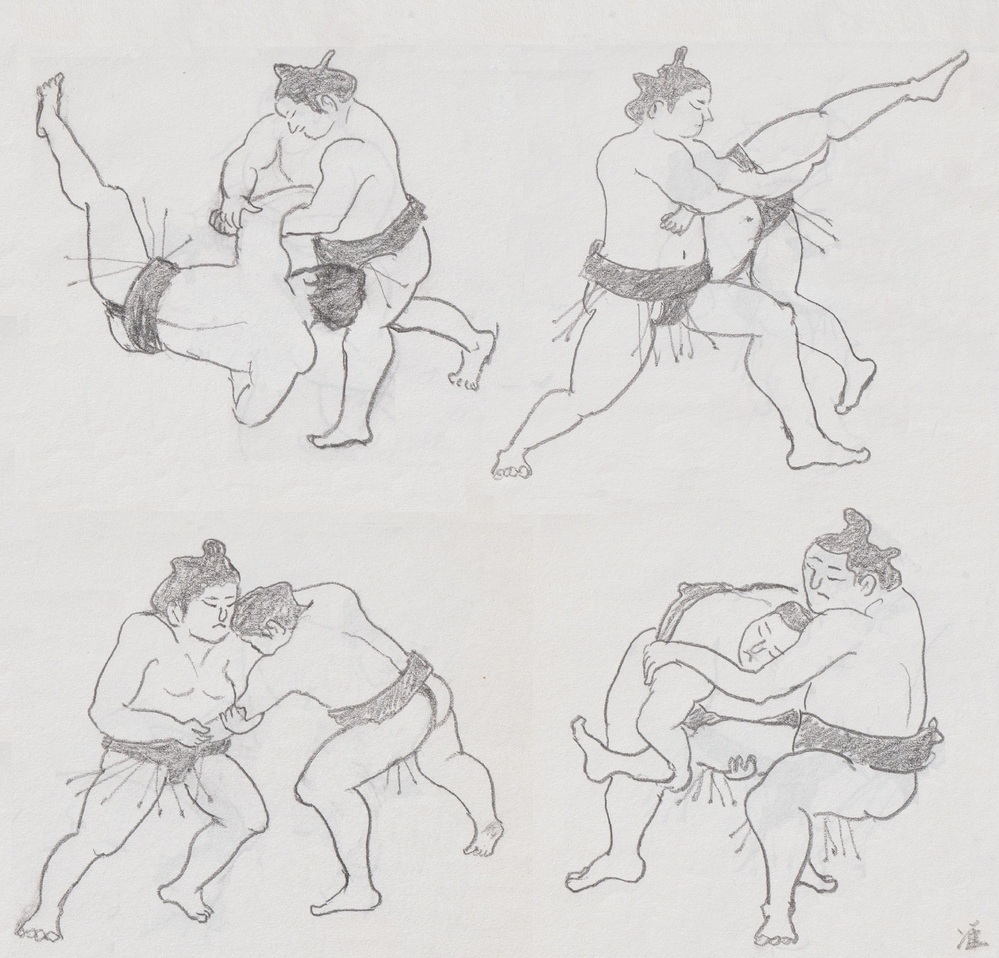 ボンジュール(^O^)/ 大相撲好きですか? 力士で好きな人はいますか?
