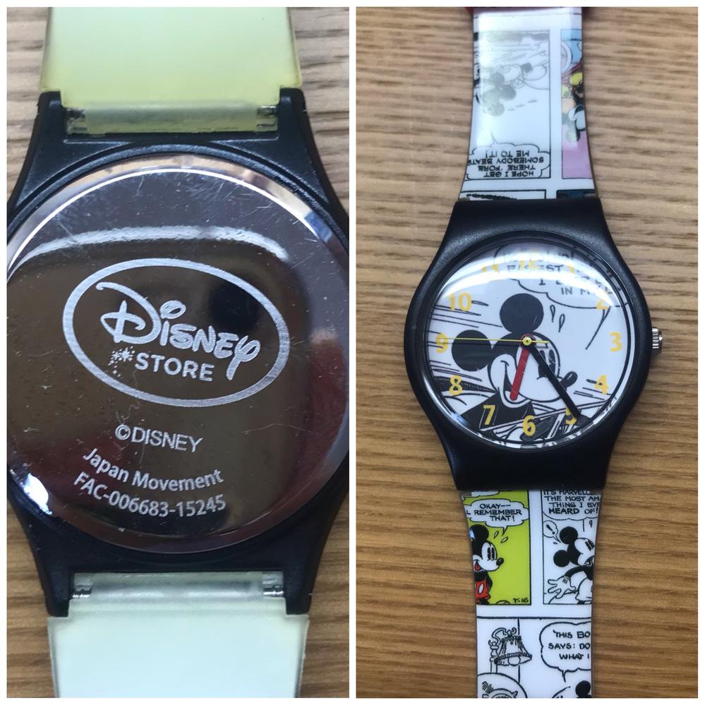 この時計の電池の大きさが知りたいです。