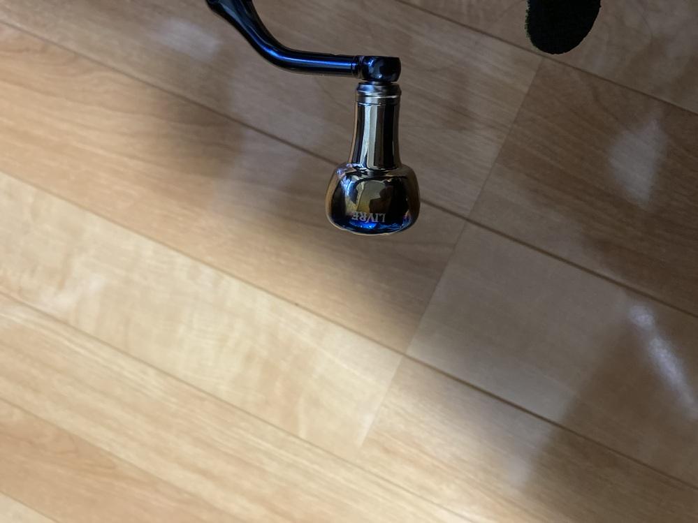 16バンキッシュ3000番のハンドルノブをリブレに変えたところ、根本でぐらぐらします。何が悪いですか?ベアリングの径?