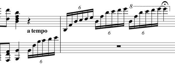ピアノでここがスムーズに弾けません。 どうやって弾いたらいいでしょうか? ファ、ドがシャープです。テンポは188だったと思います。