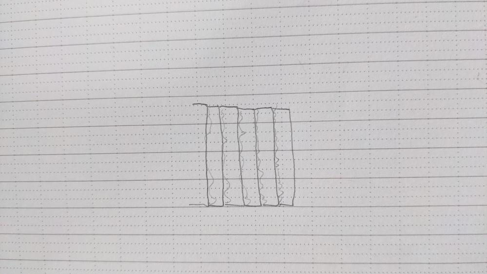 このような段になっているような家の外壁のことを何ていうんですか? 伝わりにくくてすみません。斜めに板がくっついている感じのやつです。百葉箱みたいな。