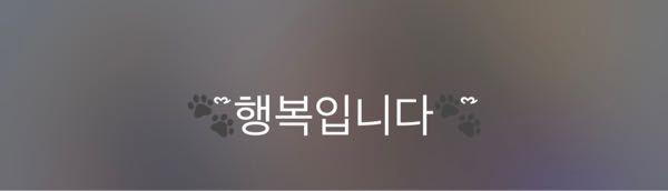 この韓国語の和訳を教えてください