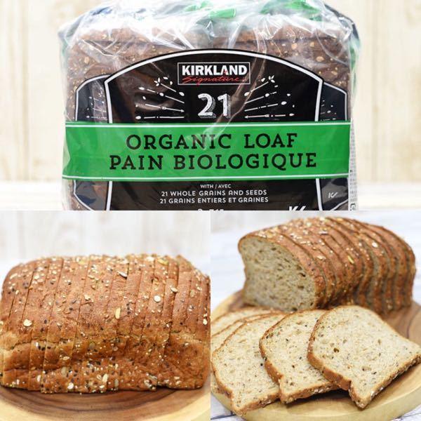 コストコで売られている「21穀オーガニックパン」が好きなのですが、しょっちゅう買いに行けるわけではなく…。 似たようなパンを手軽にスーパーなどの量販店で買えたらなぁと思うのですが、どなたかオススメはありませんか(*´-`)?