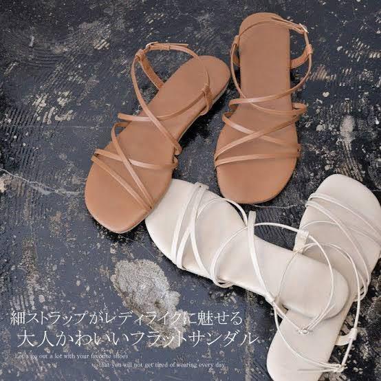 こういうストラップサンダルはワンサイズ大きいのを買った方がいいと思いますか?靴ズレが心配です
